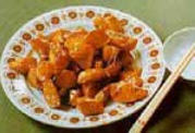Chinese Food Recipes: Chinese Yams in Spun Syrup