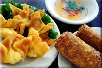 Chinese Appetizer Recipes: Crab Rangoon