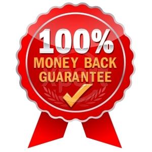 100٪ ضمان عودة الأموال